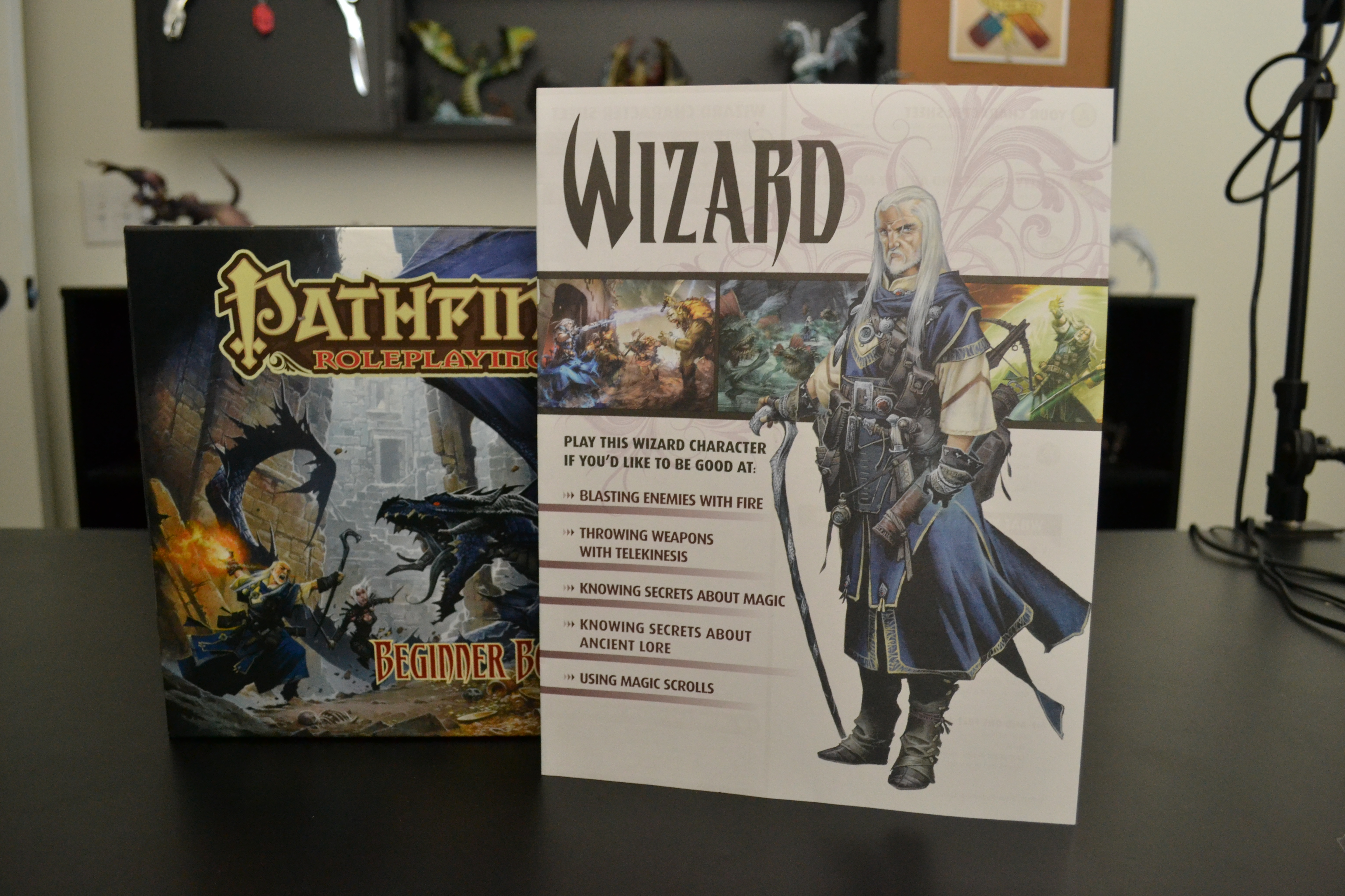 how to play pathfinder beginner box