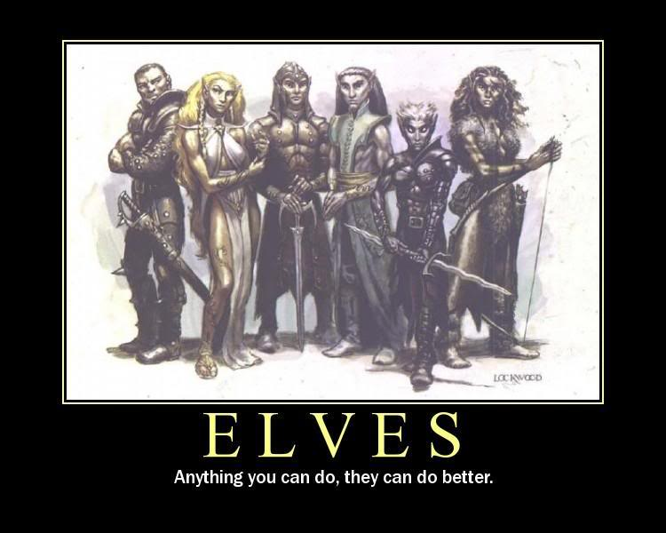 Elves Are Better Than Everyone