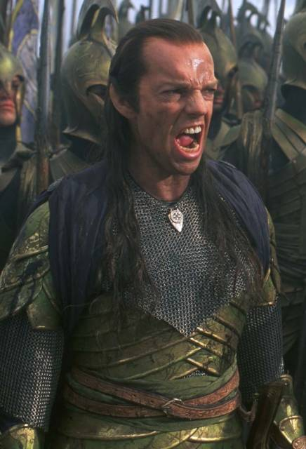 Elrond War Face