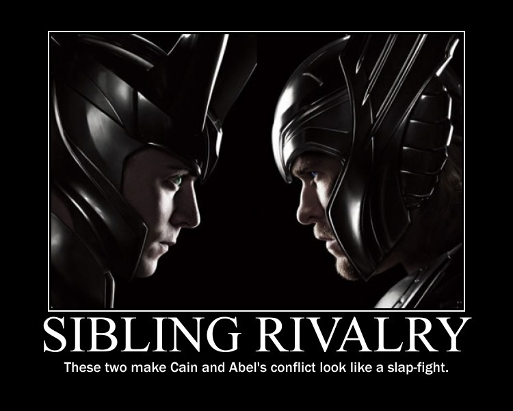 Loki and Thor Sibling Rivalry