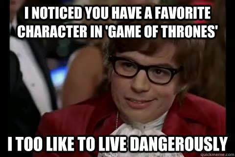 Austin Powers Game of Thrones