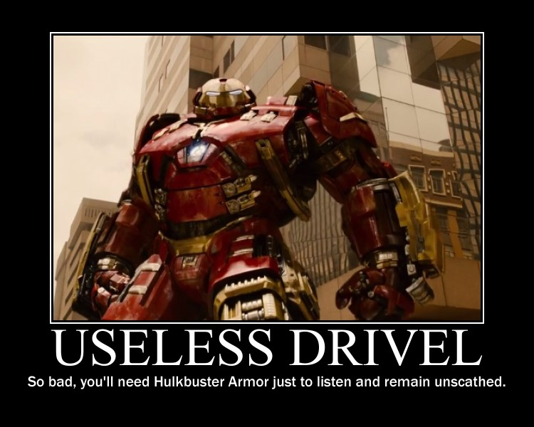Useless Drivel Hulkbuster