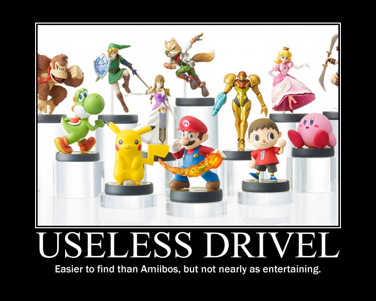Useless Drivel Amiibo