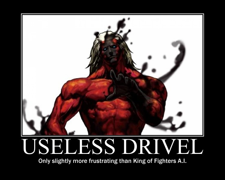 Useless Drivel King of Fighters