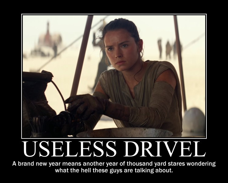 Rey Star Wars Useless Drivel