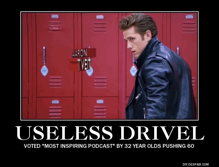 Useless Drivel Danny Zuko