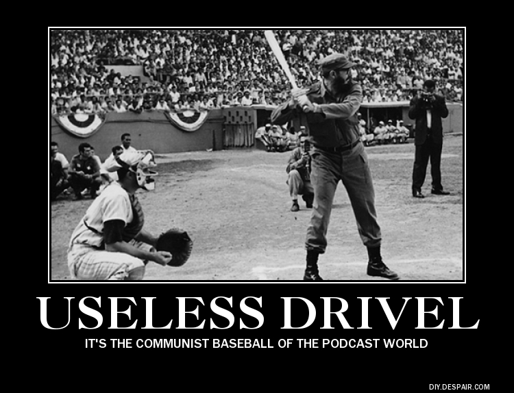 Useless Drivel Communist Baseball